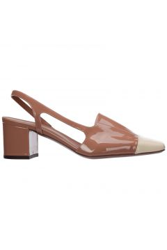 Women's leather pumps court shoes high heel(118300683)