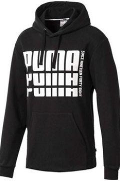 Sweat-shirt Puma Felpa Cappuccio Nera(115478114)