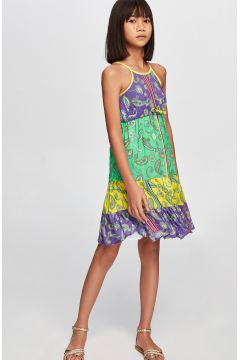 Tyess B&G Renkli Kız Çocuk Elbise(114005944)