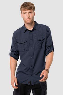 Jack Wolfskin 1402431 Atacama Roll-Up Shirt Gömlek(114005494)