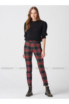 Black - Pants - Dilvin(110343567)