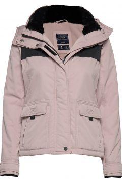 Tech Jacket Gefütterte Jacke Pink ABERCROMBIE & FITCH(114157095)