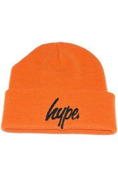 Bonnet Hype Bonnet à Revers Script Orange et Noir(115448859)