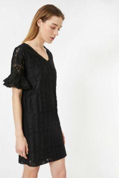 Koton Kadın Dantel Detayli Elbise(113784832)
