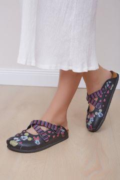 Shoes Time Kadın Siyah Terlik 20y 814(123299315)