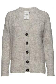 04 The Knit Cardigan Cardigan Strickpullover Grau DENIM HUNTER(94140298)