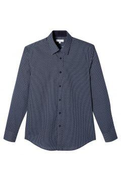 Camisa slim, manga larga, estampado(120142848)