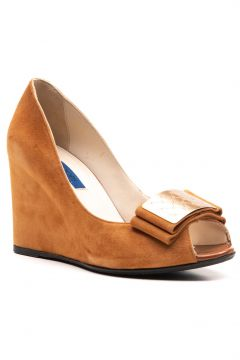 Joop Kadın Taba Süet Ayakkabı(114226644)