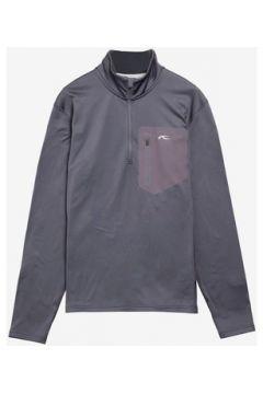 T-shirt Kjus Men Hydraulic Halfpzip Dark grey(88654296)