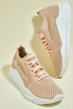 Bambi Bej Kadın Sneaker(109224002)