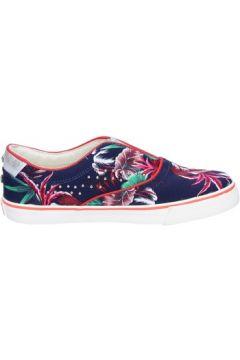 Chaussures Wrangler slip on bleu toile clous BT776(115442904)