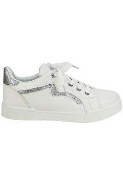 Chaussures Cendriyon Baskets Blanc Chaussures Femme(115410674)