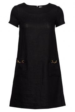 Teardrop Dress Kurzes Kleid Schwarz IDA SJÖSTEDT(114357379)