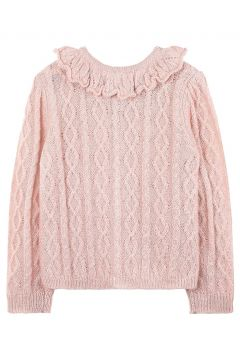 Pullover/Cardigan aus Mohair-Wolle und Wolle(113868793)