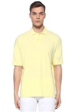Isabel Marant Erkek Anafi Sarı Polo Yaka Logolu T-shirt M EU(109265332)