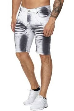 Short Kc 1981 Short jeans fashion homme Short 3226 blanc(115389825)
