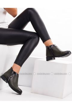 Khaki - Boot - Boots - MODA AYAKKABI(110315401)