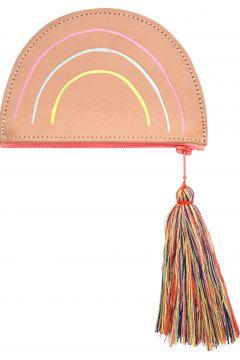 Pochette Regenbogen aus Leder(93524314)