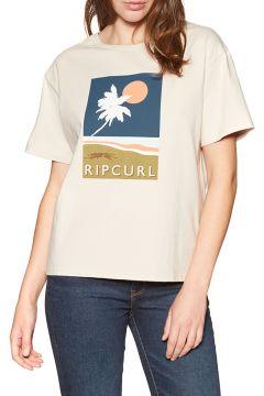 T-Shirt à Manche Courte Femme Rip Curl Sunsetters - Stone(117003088)