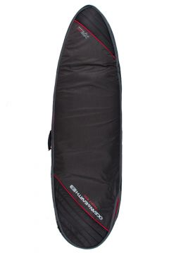 Ocean and Earth Double Compact Fish Cover Surfboard Bag - Black(110360094)