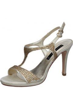 Sandales Bacta De Toi sandales platino satin strass BY95(115400887)