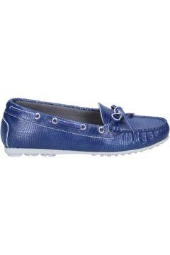 Chaussures K852 Son mocassins bleu cuir BT933(98485332)