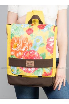 Yellow - Backpacks - Fudela(110321082)