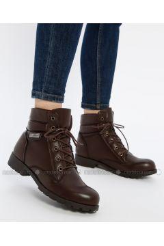 Brown - Boot - Boots - Shamdan(110334580)