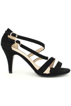 Sandales Cendriyon Escarpins Noir Chaussures Femme(115425664)