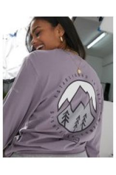 Columbia - Cades Cove - T-shirt a maniche lunghe viola(120359758)