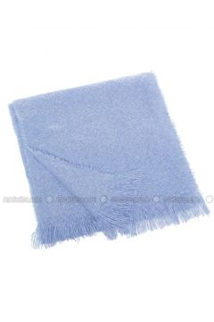 Blue - Shawl Wrap - DeFacto(110326762)