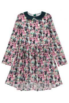 Kleid mit Bubikragen Iridescence(113612255)