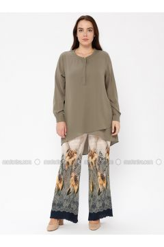 Green - Multi - Pants - Le Mirage(110338971)