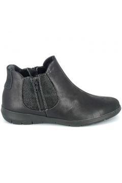 Boots Boissy Boots Noir texturé(128000641)
