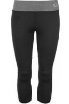 Skechers Panel Capri Pants Ladies - Black(97187671)