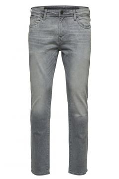 SELECTED 3021 Slim Fit Jeans Herren Grau(110710323)