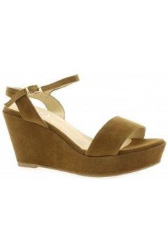 Sandales Brenda Zaro Nu pieds cuir velours(127909490)