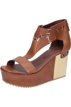 Sandales Vic sandales marron cuir BZ552(88470320)