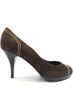 Chaussures escarpins Vicini escarpins marron daim zx10(115443265)