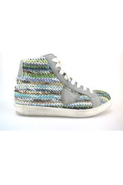 Chaussures Crown sneakers multicolor textile cuir AG227(115393449)