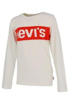 T-shirt enfant Levis Redband blanc ml tee jr(127985924)