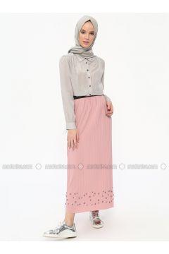 Powder - Unlined - Skirt - Dadali(110315333)