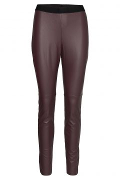 Honati Leather Leggings/Hosen Rot HUGO(100850220)