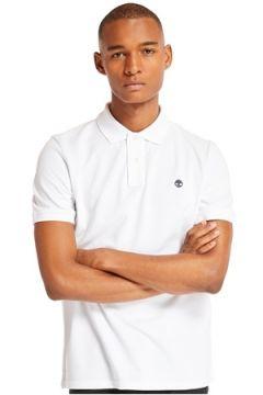 Timberland Erkek SS MR Regular Fit Beyaz Polo T-shirt M EU(113464612)