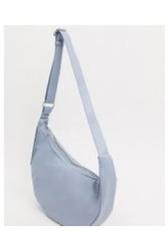 Glamorous - Maxi borsa azzurra con tracolla-Blu(120398911)