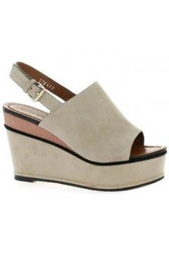 Sandales Elvio Zanon Nu pieds cuir velours(115612579)