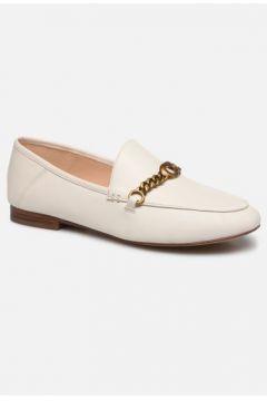 SALE -30 Coach - Helena C Chain Loafer- Leather - SALE Slipper für Damen / weiß(111610154)