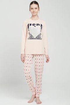 Ensembles Pyjamas U.S. POLO ASSN. Rose(109006201)
