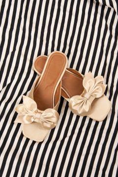 Pantoufles Fox Shoes Crème(127841205)