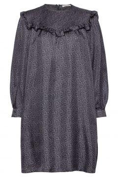 Satine Dress Kurzes Kleid Grau NUÉ NOTES(118370680)